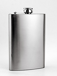 Stainless Steel 8-oz   Flask  Hip Flask