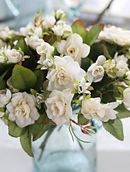 1 Branch Plastic Others Plants Tabletop Flower Artificial Wedding Supplies Home Furnishing Decoration 15 Head