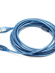 USB 2.0 Cable, USB 2.0 to USB 2.0 Cable Male - Male 5.0m(16Ft)