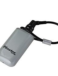 5408D Zinc Alloy Aluminum Portable Outdoor Backpack Hanging Metal Hidden Password Lock Key Box Safe Wallet Dail Lock Password Lock