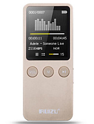 RUIZU X08 8G Gold Band with MP3 Player
