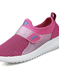 Women's Loafers & Slip-Ons Comfort Light Soles Breathable Mesh Spring Fall Casual Outdoor Comfort Light Soles Magic Tape Flat Heel