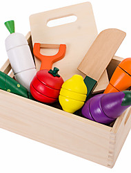 Toy Foods Wooden Children's