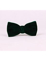 Masculino Casamento Fashion 90% Wool10% Seda Todas as Estações Gravata Borboleta,Sólido