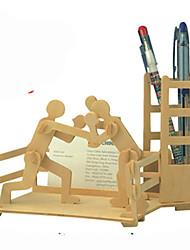 Puzzles Kit de Bricolage Puzzles 3D Blocs de Construction Jouets DIY  Meuble Bois