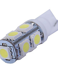 1.5w dc12v t10 5led smd5050 lumière arrière lumière de la porte plaque d'immatriculation lumière blanc bleu glace bule rouge rose jaune