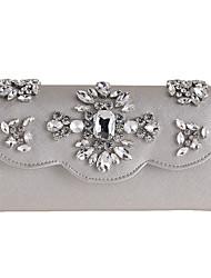 L.WEST Women's fashion diamond diamond Dinner Wristlet clutch Bag