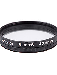 Andoer 40.5mm набор фильтров uv cpl star 8-точечный набор фильтров с футляром для камеры canon nikon sony dslr