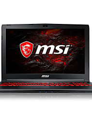 Ordenador portátil de juegos msi 15.6 pulgadas intel i5-7300hq 8gb ddr4 1tb hdd 128gb ssd windows10 gtx1050ti 4gb gl62m 7rex-1481cn