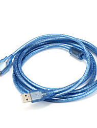 USB 2.0 Cable, USB 2.0 to USB 2.0 Cable Male - Male 3.0m(10Ft)