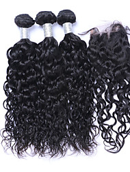 Natural Color Hair Weaves Brazilian Texture Natural Wave More Than One Year Four-piece Suit hair weaves