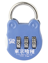 19B Password Unlocked Travel Bags Padlock Padlock Gymnasium Drawer Cabinet Lock  3 Digit Password Dail Lock  Password Lock