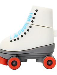 Hot New Cartoon Red Wheel Skates USB2.0 8GB Flash Drive U Disk Memory Stick