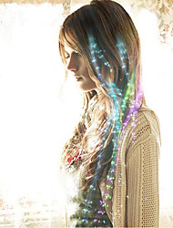 5 Piece / Group Of Colorful Braids/Flash Fiber Braids/Flash Hair/LED Silk/LED Strand/Bar Dance Halloween Festive Items
