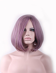 Cospoay Animation Wig Purple Pink Face in the Sub-Liu Haibo Wave Head Harajuku Wig 12inch
