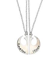 Жен. Муж. Ожерелья с подвесками Бижутерия Геометрической формы СплавУникальный дизайн Природа Мода По заказу покупателя Религиозные
