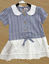 Baby Children's New Baby Cotton Baby Shower Plaid/Check Flower One-Pieces,Floral All Seasons