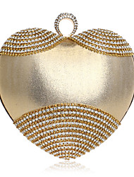 L.WEST Women's fashion heart-shaped dinner packages bags