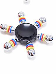Spinners de mão Mão Spinner Pião Brinquedos Brinquedos Seis Spinner Metal EDCBrinquedo foco Brinquedos de escritório Alivia ADD, ADHD,