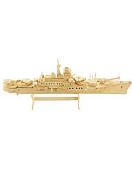 Puzzles Puzzles 3D Blocs de Construction Jouets DIY  Navire de Guerre