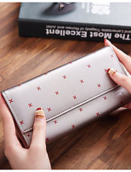 Women Coin Purse PU Polyester All Seasons Casual Outdoor Square Without Zipper Light Blue Fuchsia Blushing Pink Gold