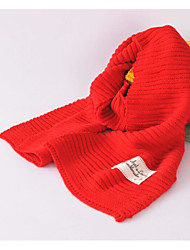 Kids Cotton Rectangle Solid Winter Fall/Autumn