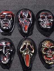 Décoration fournitures crâne halloween masque style atmosphère aléatoire