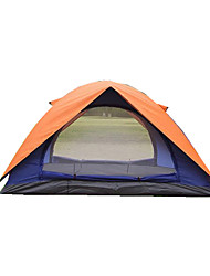 2 persons Tent Fold Tent Camping Tent Canvas Moistureproof/Moisture Permeability Waterproof Thermal / Warm Foldable Tent