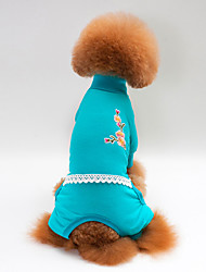 Dog Pajamas Dog Clothes Casual/Daily Solid