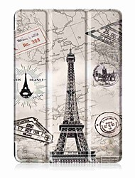 Painting Pattern Three fold PU Leather Case with Stand for Huawei Mediapad T3 10.0  9.6 inch Tablet PC