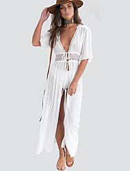 Women's Party Beach Holiday Street chic Sheath Swing Dress,Print Round Neck Knee-length Sleeveless Polyester Summer Mid Rise Inelastic