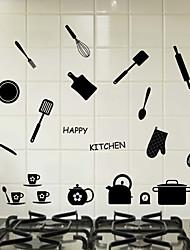 Слова и фразы Мода Геометрия Наклейки Простые наклейки Декоративные наклейки на стены 3D материал Украшение дома Наклейка на стену