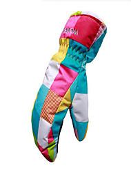 лыжные перчатки Подростки Спортивные перчатки Сохраняет тепло Катание на лыжах Катание на коньках Зимние Зима
