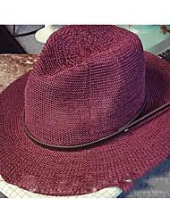 Femme Chapeau Coton Chapeau de soleil,Solide Printemps/Automne