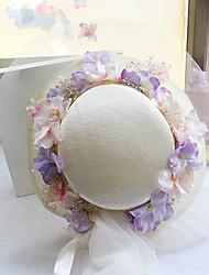 Tulle Fabric Silk Net Headpiece-Wedding Special Occasion Birthday Party/ Evening Fascinators Hats 1 Piece
