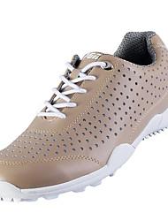 Повседневная обувь Обувь для игры в гольф Муж. Противозаносный Амортизация Пригодно для носки Дышащий Выступление Низкое голенище Резина