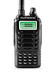 Dual band 2 way radio dual standby dual display quansheng tg-uv2 com fcc ce certification walkie talkie