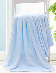 Serviette de bain,Solide Haute qualité 100% Fibre de bambou Serviette