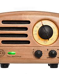 MW-2 Rádio portátil Radio FM Alto Falante Embutido Castanho Claro