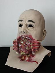 Halloween Horror biochimico zombie con cappuccio maschera fantasma zombie grido