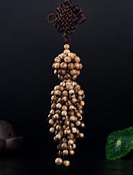 Diy pendentes automotivos decoração de carro de madeira nó chinês moda boa sorte ferry carro pendente&Ornamentos thymelaeaceae