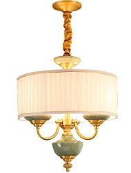 All Copper Chandelier Jade DecorativeLiving Room Chandelier OP01