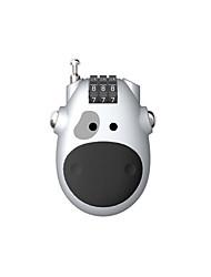 YF20972 Plastic 3 Digit Password Password Lock Fashion Card Lock Cow Lock Lock Telescopic Wire Lock Lock Luggage Lock Gift Lock