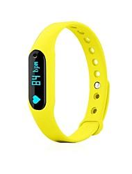 Men's Smart Watch Fashion Watch Digital Silicone Band Black Blue Yellow