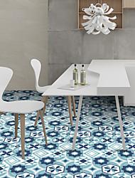 Hexagon Ceramic Tile Plaster Wall Stickers The Living Room Bedroom Self-Adhesive Waterproof PVC Film