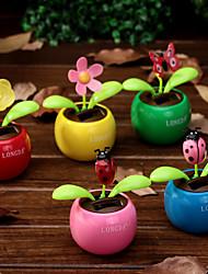Animais Veículos Plásticos Flor Acessórios decorativos