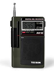 Tecsun R-818 Radio  Portable Elderly Semiconductor Full-Band Digital Clock Control