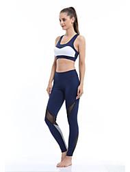 Yoga Medias/Mallas Largas Secado rápido Listo para vestir Transpirabilidad Alta elasticidad Alta elasticidad Ropa deportiva Mujer Yoga