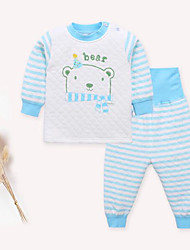 Baby Kids' Casual/Daily Geometic Clothing Set Spring/Fall