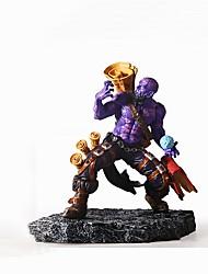 Diy automotriz lol heroes dolls master - riz purple car pendant&Ou o nome de plástico